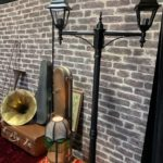 1920's Brick Wall Streetlamp - Prop For Hire