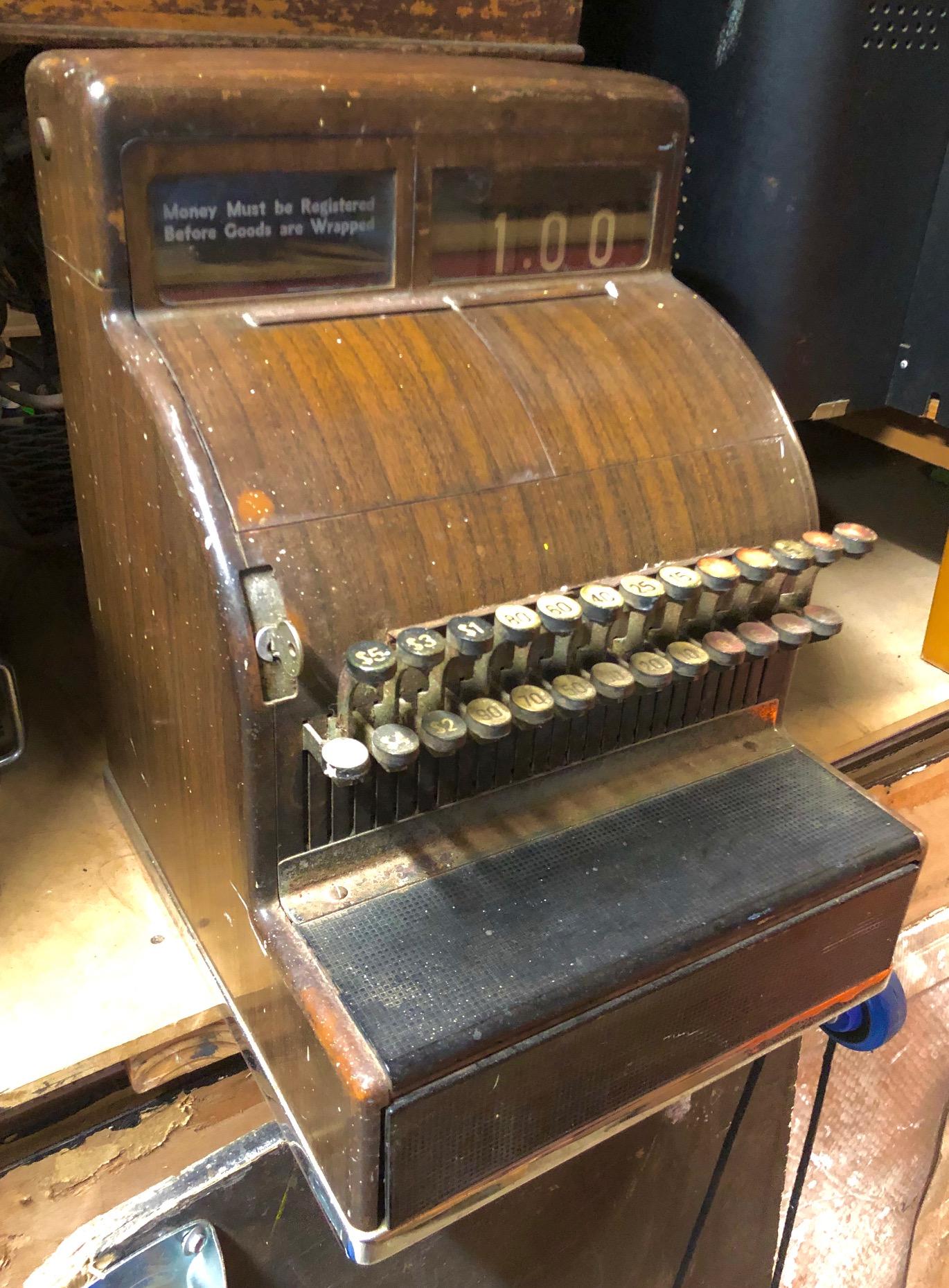 1920's Cash Register - Prop For Hire