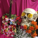 Giant Day of the Dead Skull - Prop For Hire