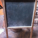 A-Frame Chalkboard - Prop For Hire