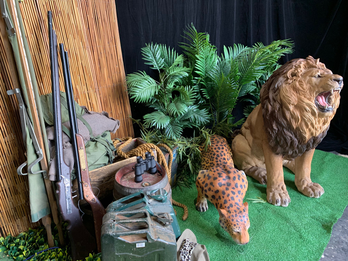 African Hunter Props - Prop For Hire