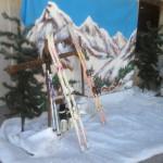 Alpine Ski Scene - Prop For Hire