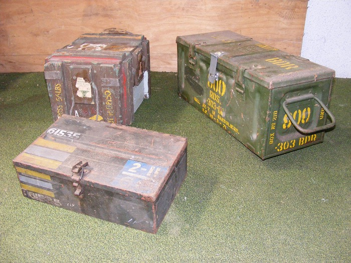 Ammo Crates 1 - Prop For Hire