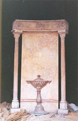Amphora Curved Walls - Prop For Hire