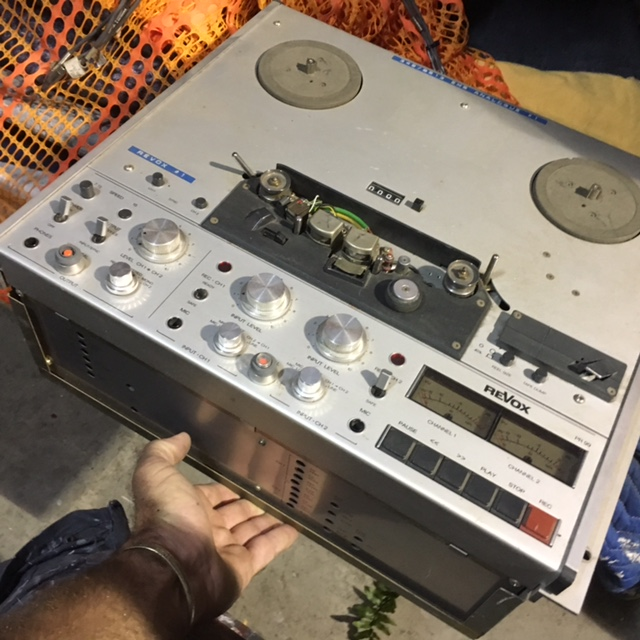 Analogue Recording - Prop For Hire