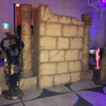 Ancient Worlds Sandstone Backdrop - Prop For Hire