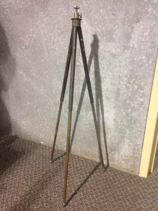 Antique Brass Tripod - Prop For Hire