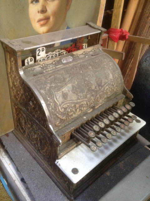 Antique Cash Register - Prop For Hire