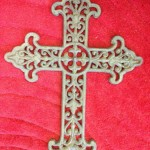 Antique Metal Crucifix - Prop For Hire