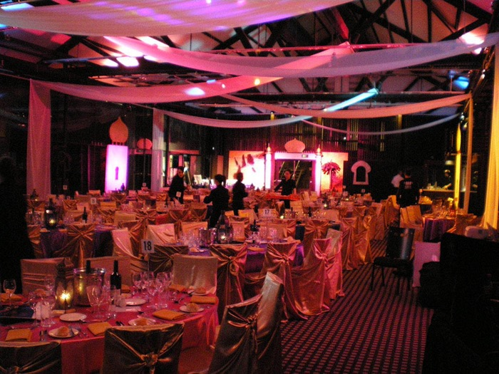Arabian Ceiling Draping - Prop For Hire