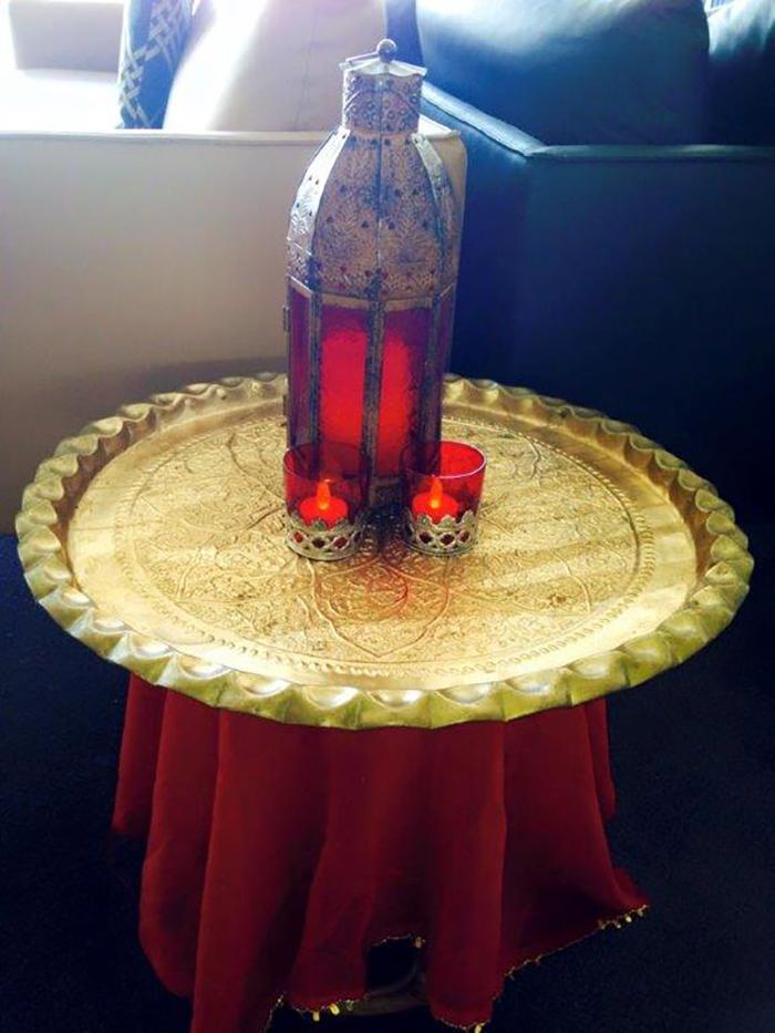 Arabian Lantern Scene - Prop For Hire