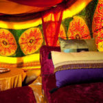 Arabian Silks Backdrop - Prop For Hire