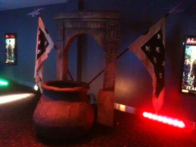 Archway Cauldron Scene - Prop For Hire
