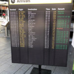 Arrivals Sign - Prop For Hire