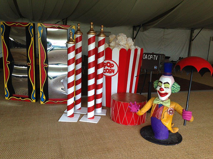 Assorted Circus Props - Prop For Hire