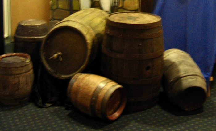 Assorted Country Barrels - Prop For Hire