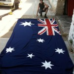 Australian Flag - Prop For Hire