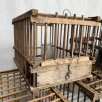 Authentic Timber Bird Cages - Prop For Hire