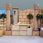 Babylonian Columns - Prop For Hire