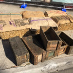 Bales Crates Seating - Prop For Hire
