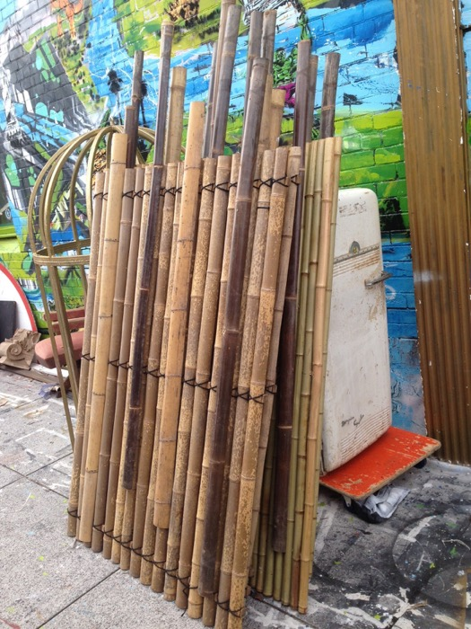 Bamboo Wall Pieces - Prop For Hire