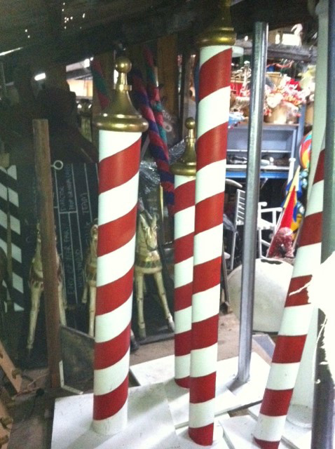 Barber Poles - Prop For Hire