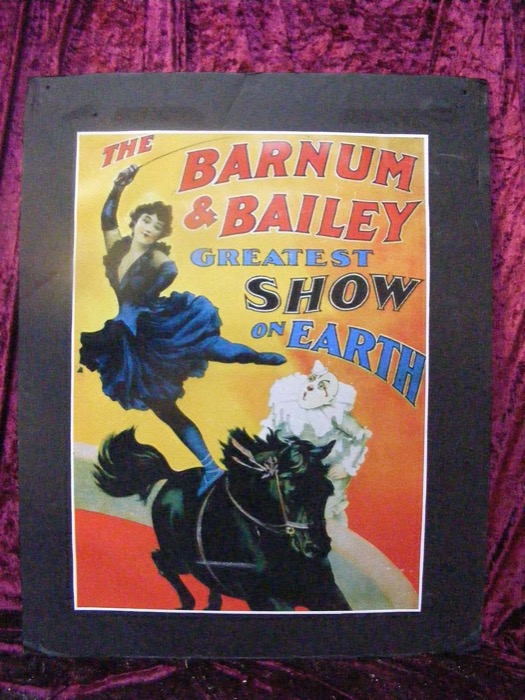 Barnum Bailey Poster - Prop For Hire
