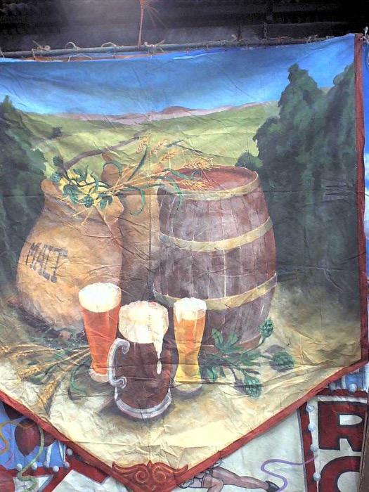 Barrel Hops Background - Prop For Hire