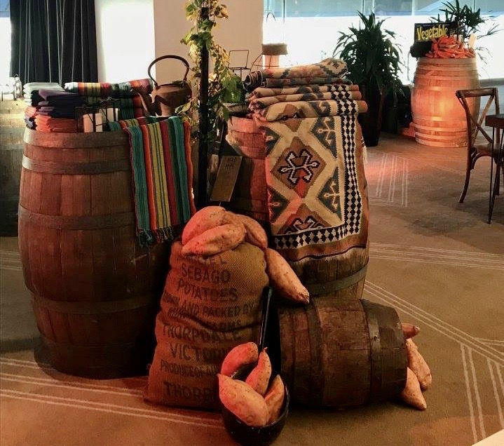Barrels and Produce - Prop For Hire
