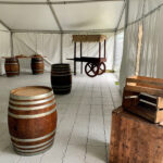Barrels as Tables - Prop For Hire