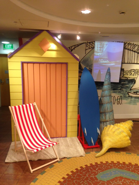 Beach Changing Hut - Prop For Hire