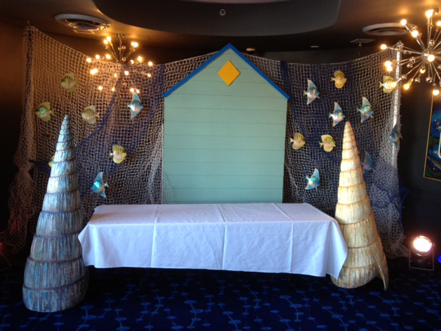 Beach Dj Booth - Prop For Hire