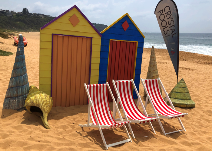 Beach Photo Backdrop - Prop For Hire