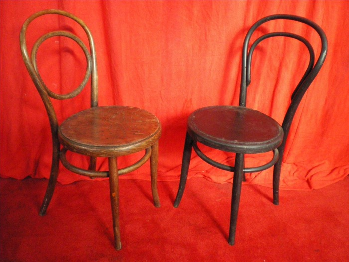 Bentwood Chairs - Prop For Hire