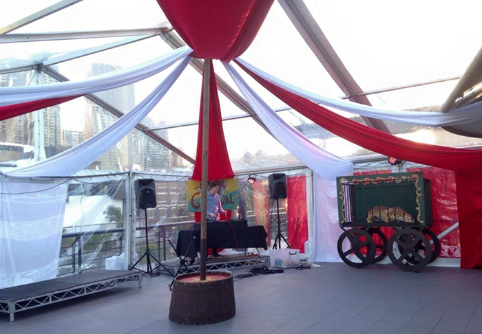 Big Top Draping 3 - Prop For Hire