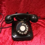 Black Bakelite Phone - Prop For Hire
