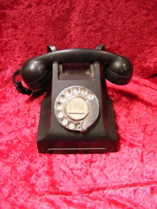 Black Heywood Phone - Prop For Hire