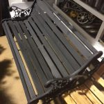 Black Park Bench - Prop For Hire