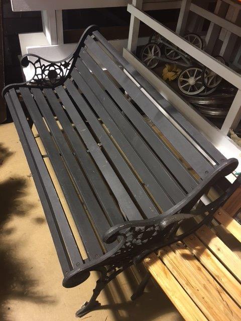 Black Park Bench - Prop For Hire