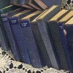 Blue Vintage Books - Prop For Hire