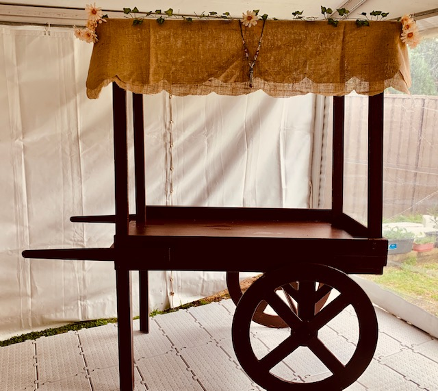 Boho Chic Cart - Prop For Hire