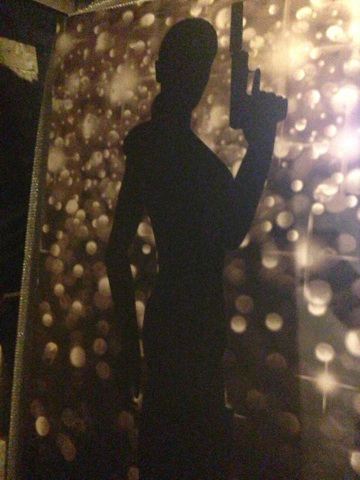 Bond Silhouette 2 - Prop For Hire