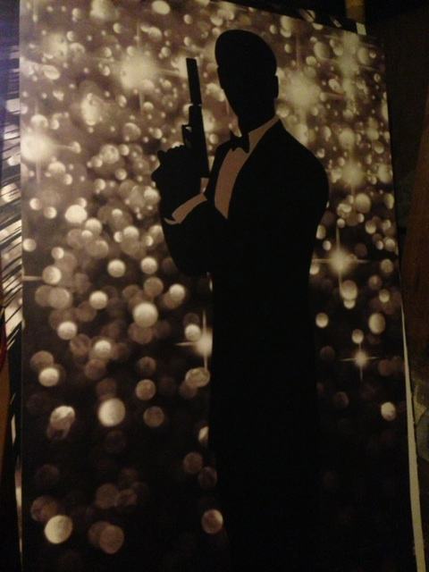 Bond Silhouette 3 - Prop For Hire