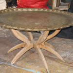 Brass Tables - Prop For Hire
