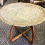 Brass Tray Table 1 - Prop For Hire