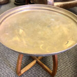 Brass Tray Table 3 - Prop For Hire