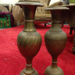 Brass Vases - Prop For Hire