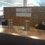 Brickwalled Gas Station - Prop For Hire