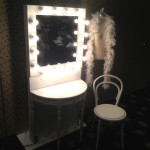 Burlesque Changing Room - Prop For Hire