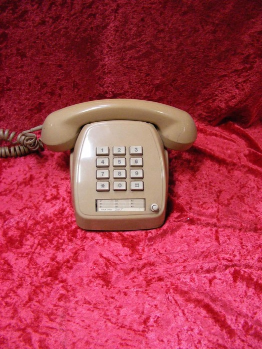 Button Phone - Prop For Hire